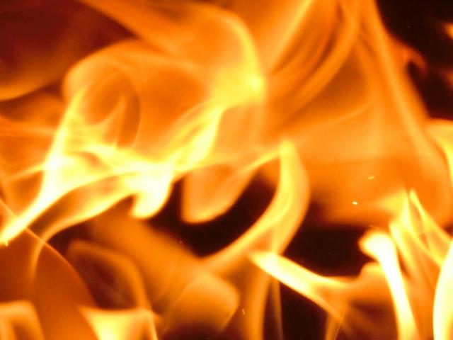 流山 火事